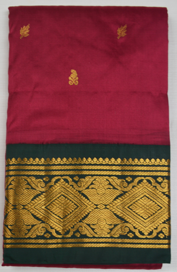 Temple Saree 2415