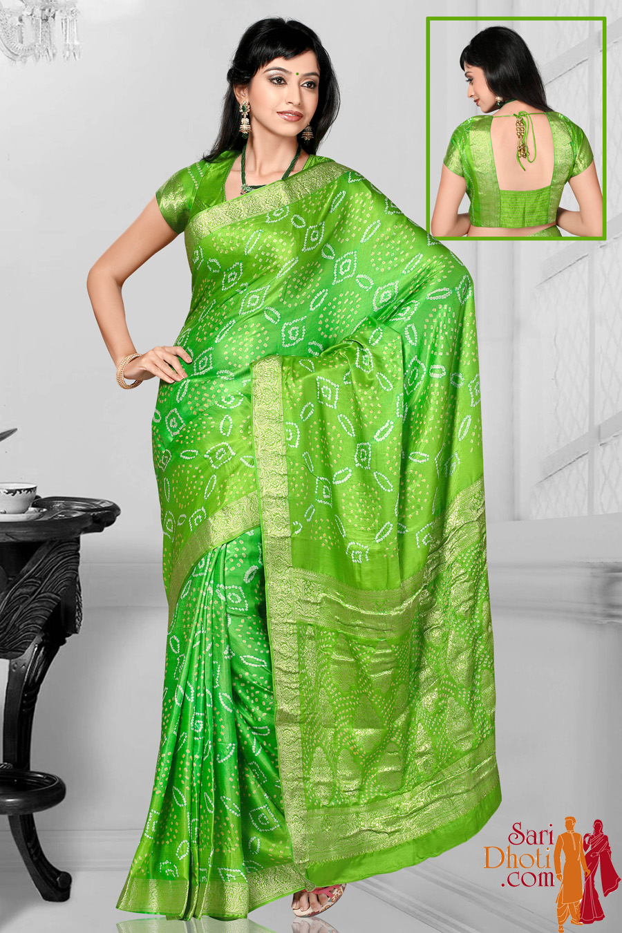 Bandhni Silk TC11