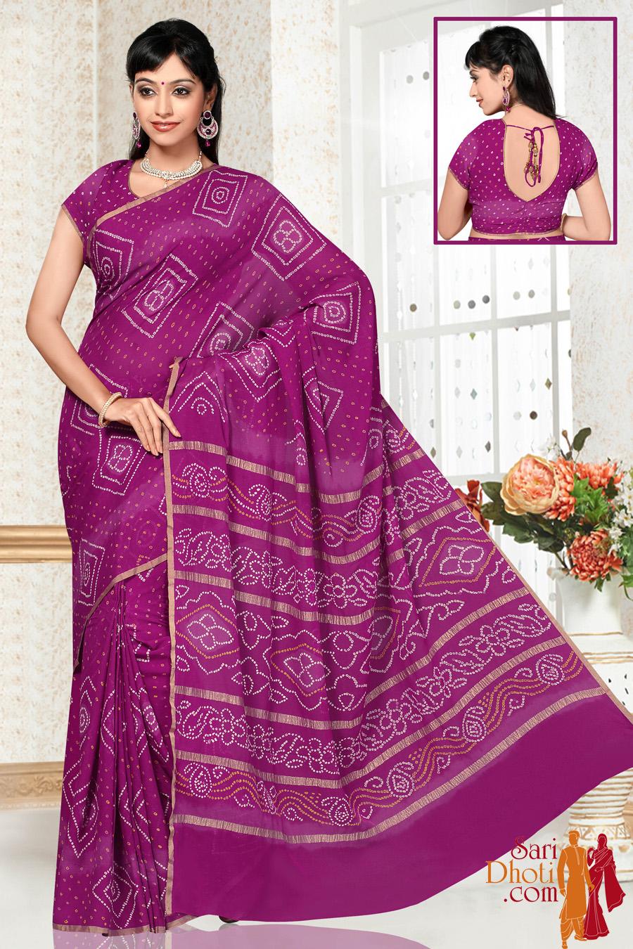 Bandhni Silk TC12