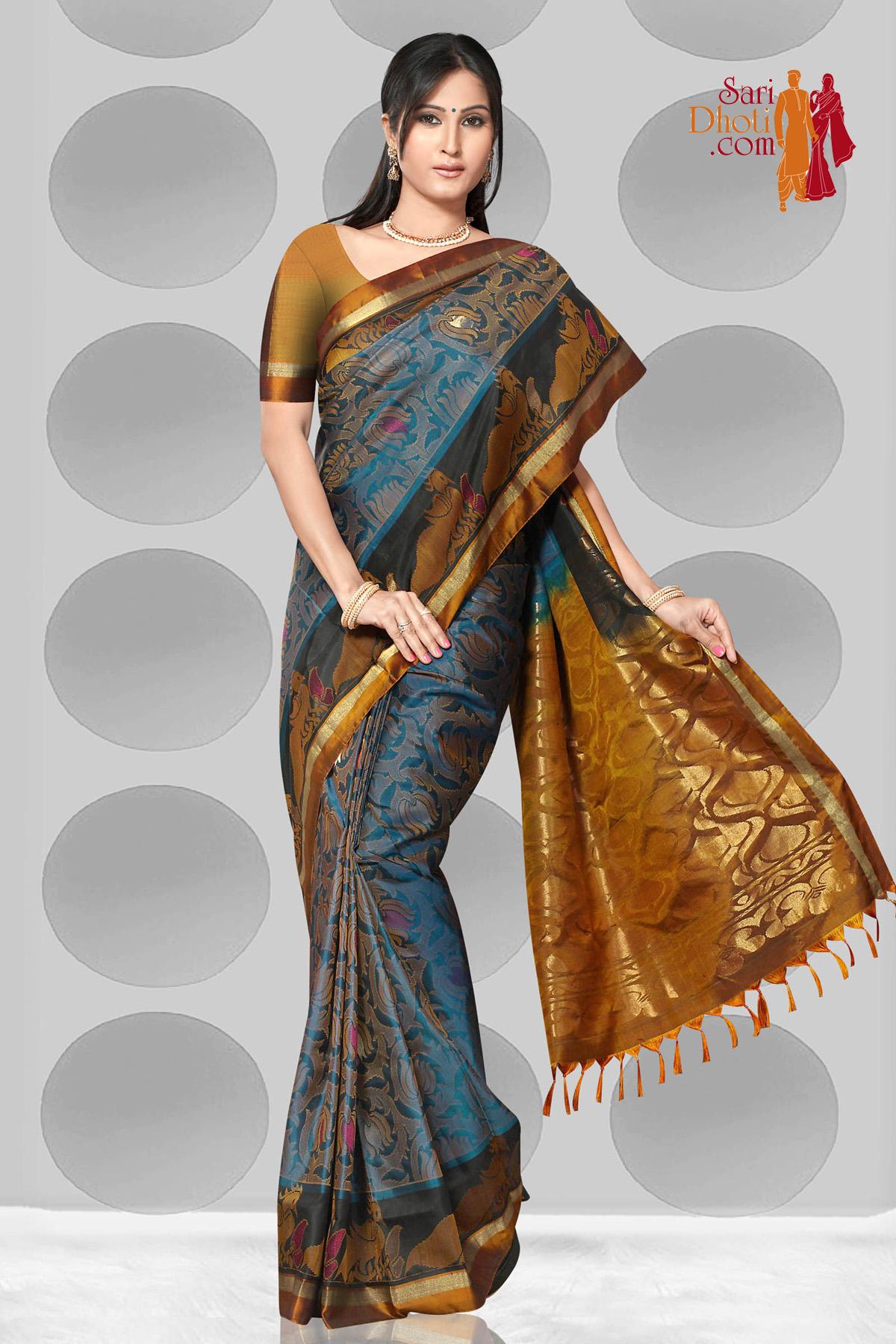 Soft Silk Saree US_1267