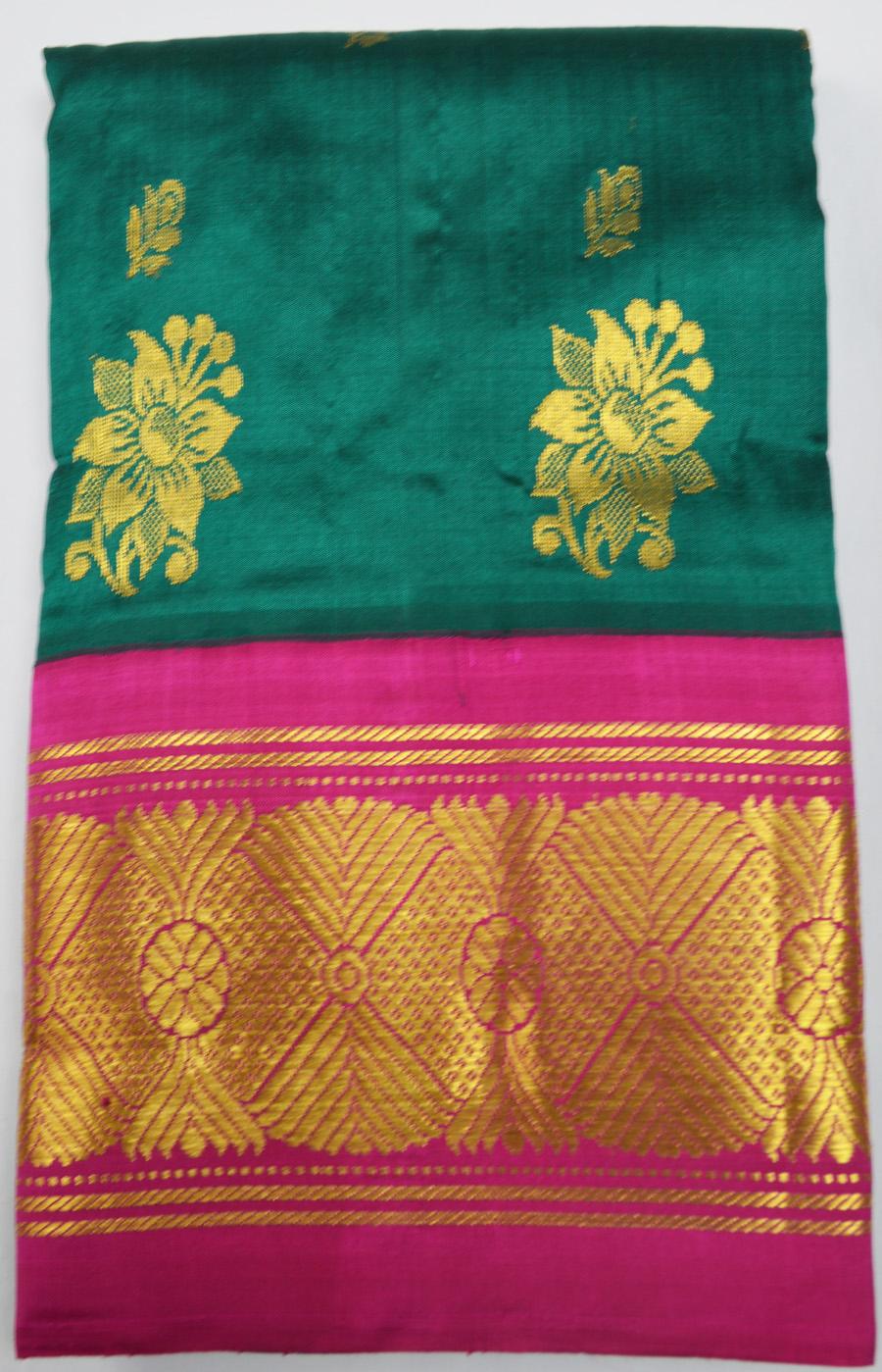 Temple Saree 2454