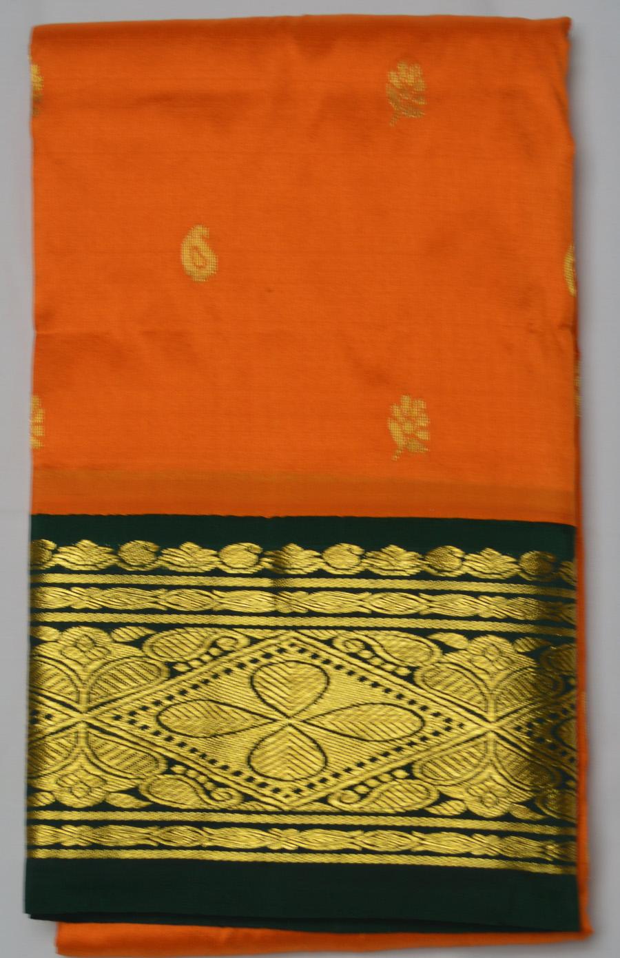Temple Saree 2552