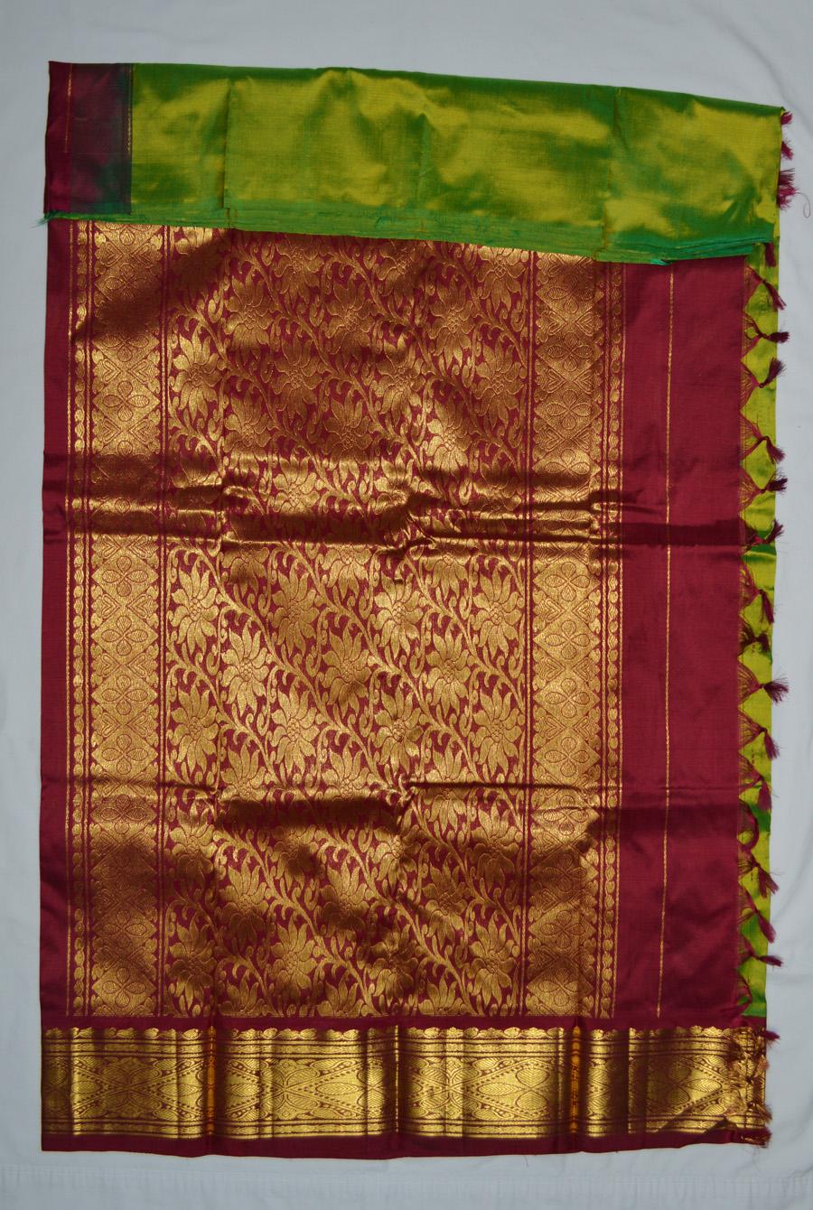 Temple Saree 2850
