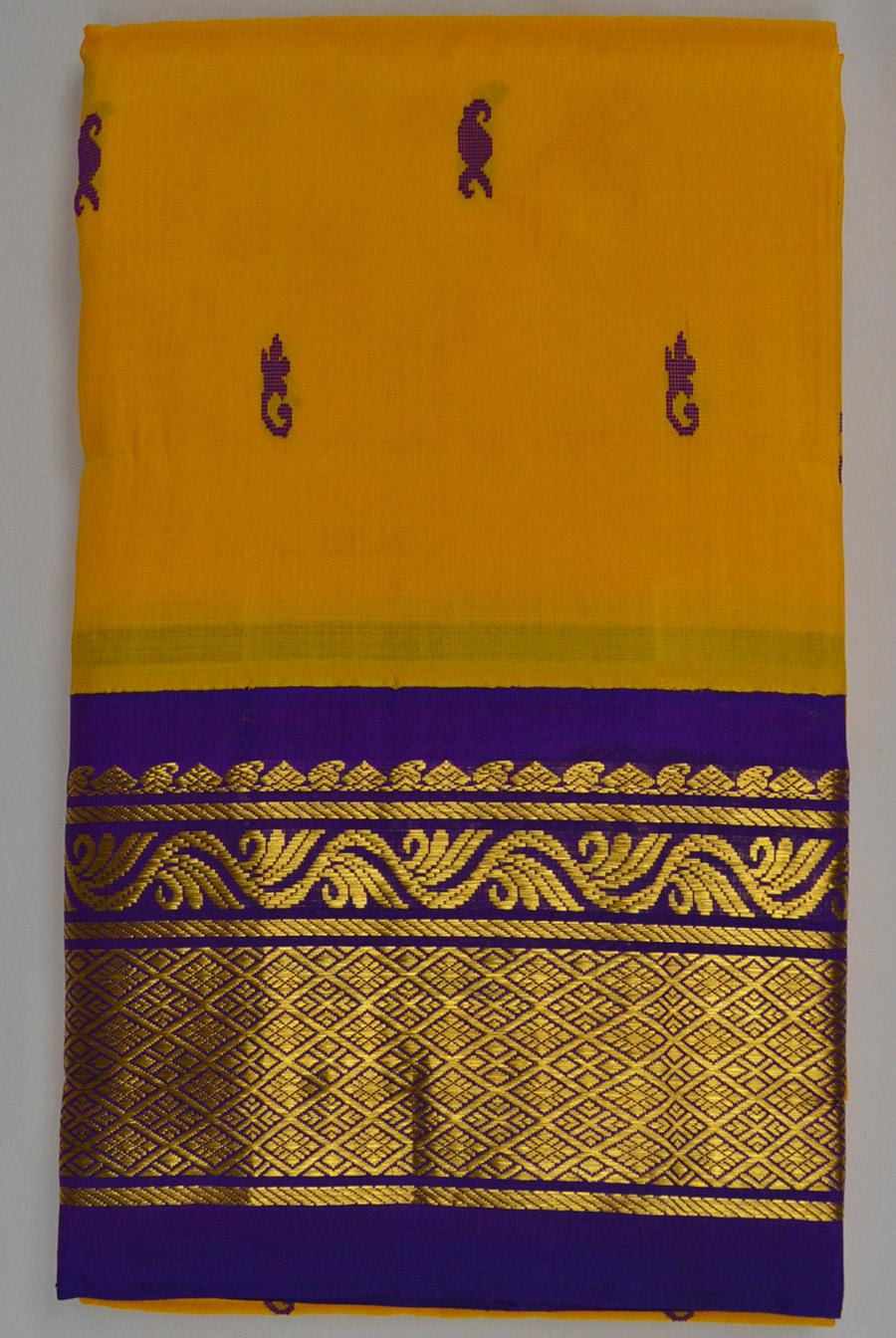 Temple Saree 3036