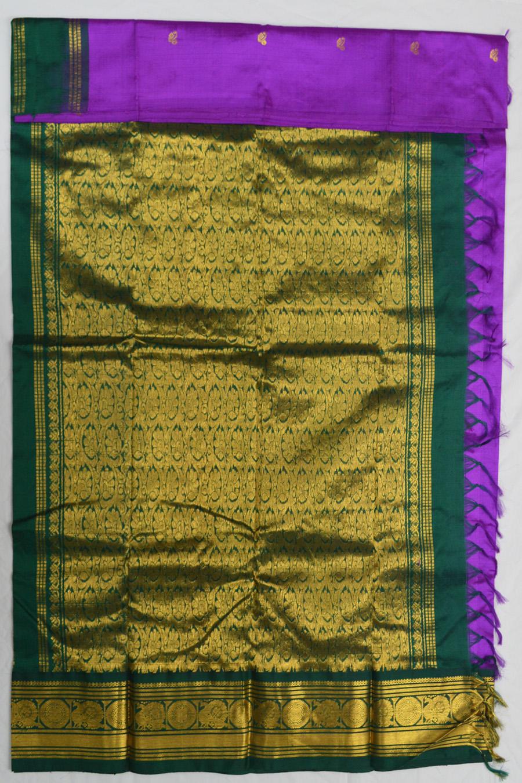 Temple Saree 3076-1
