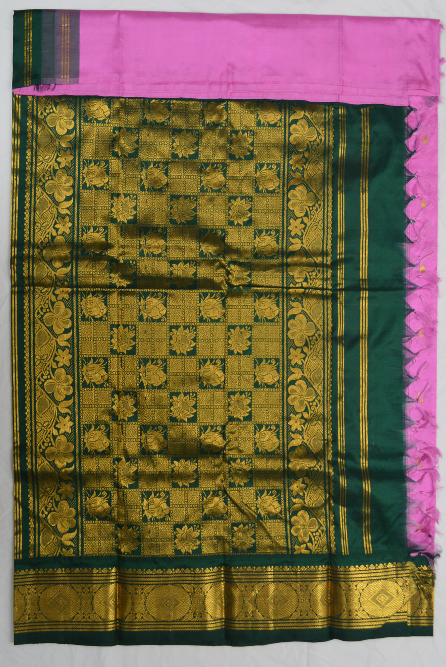 Temple Saree 3076-2