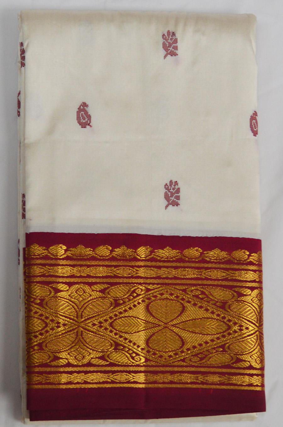 Temple Saree 3081