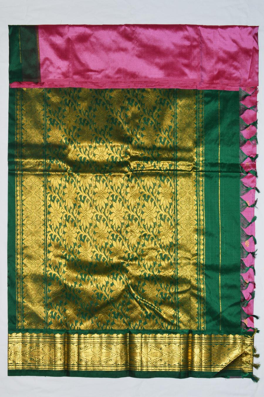 Temple Saree 2472