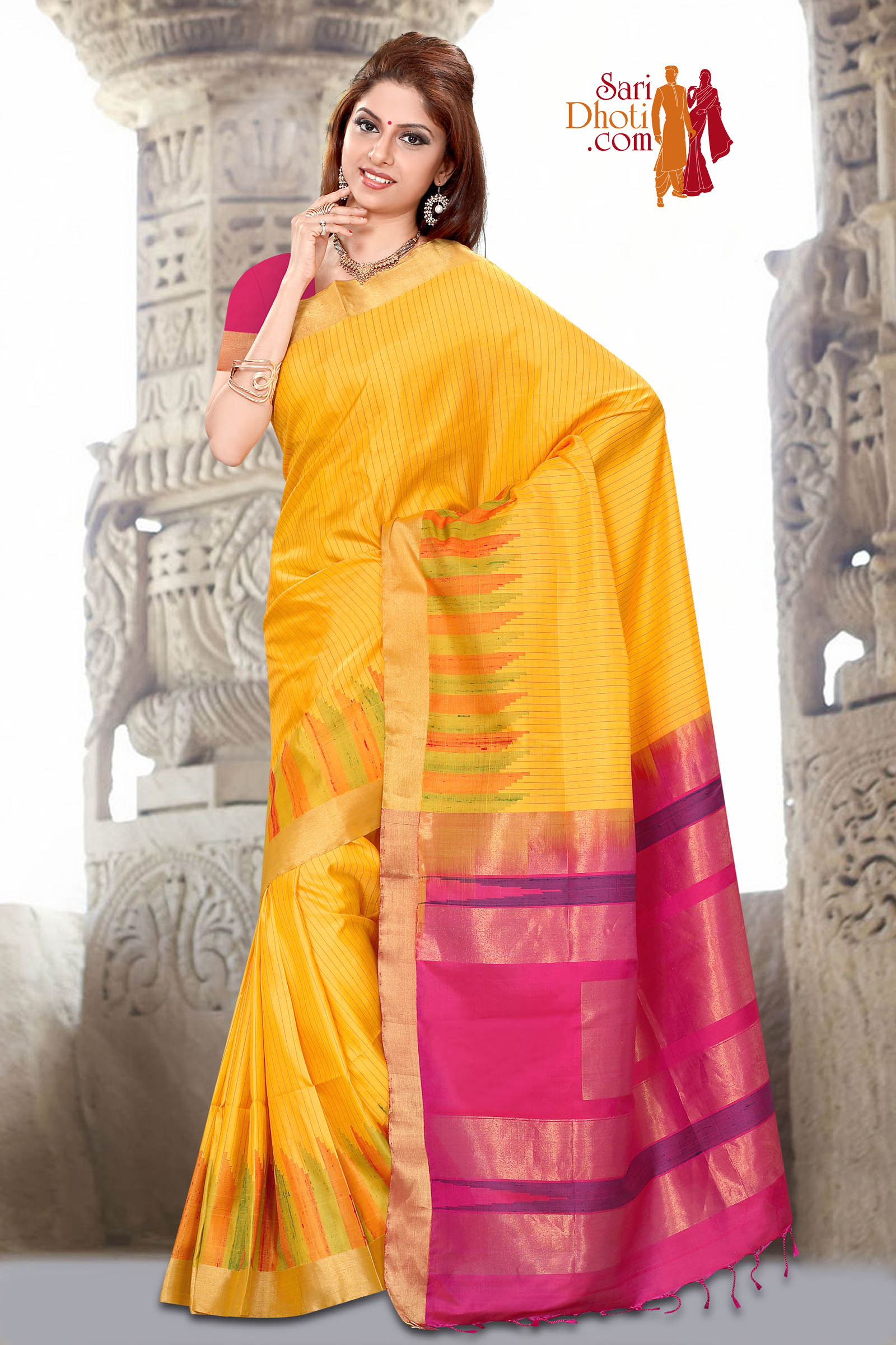 Soft Silk Saree 3660
