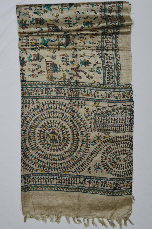 Tussar Silk  3432