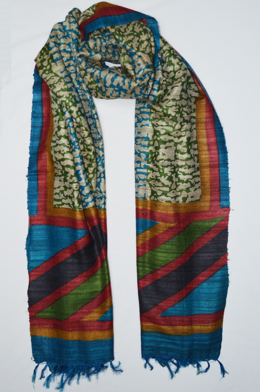 Tussar Silk  3433