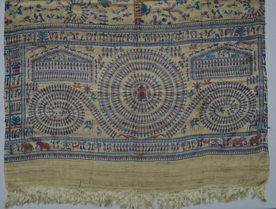 Tussar Silk  3481