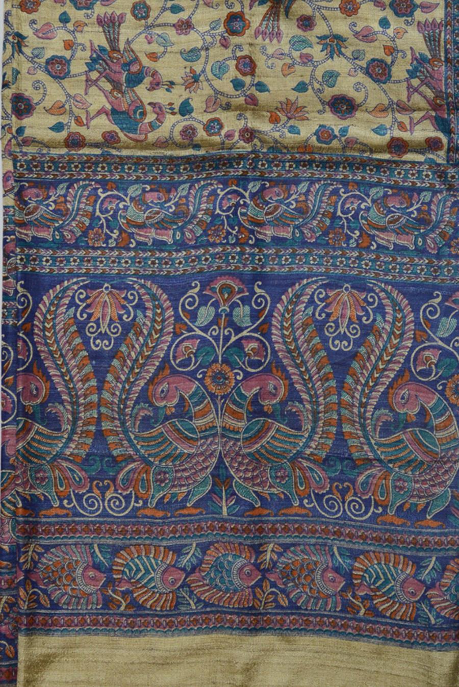 Tussar Silk  3482