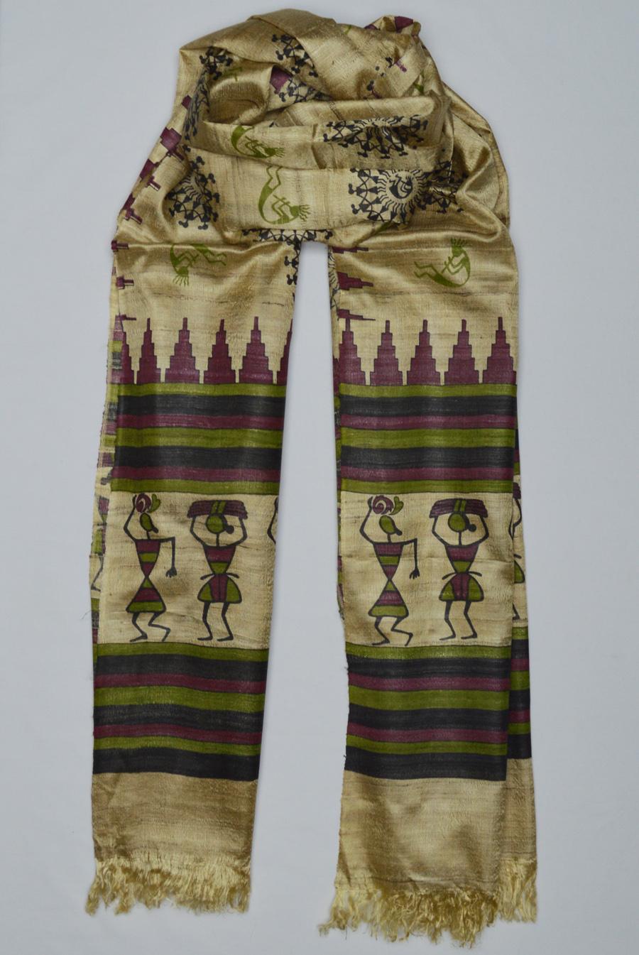 Tussar Silk  3485