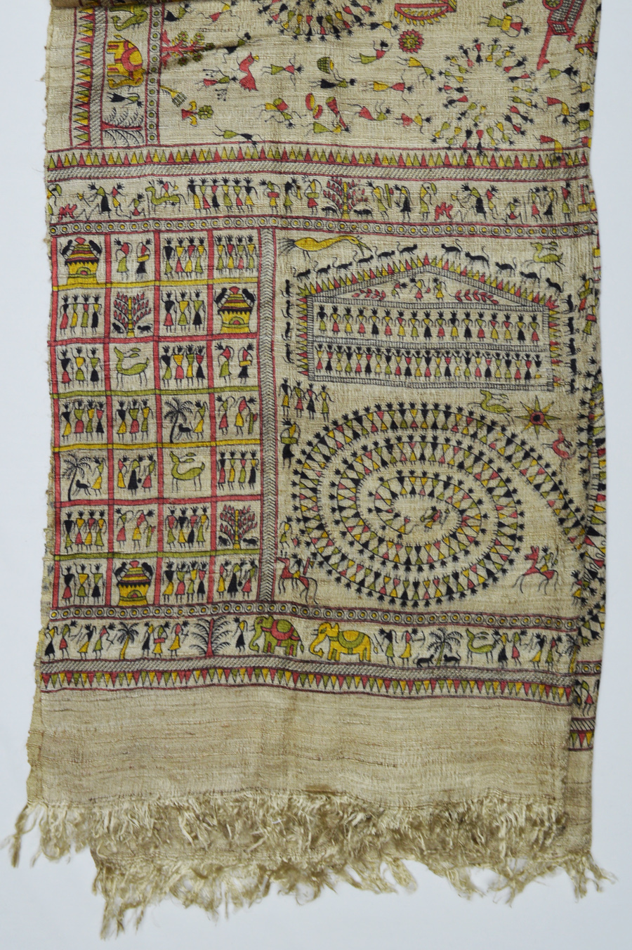 Tussar Silk  3488