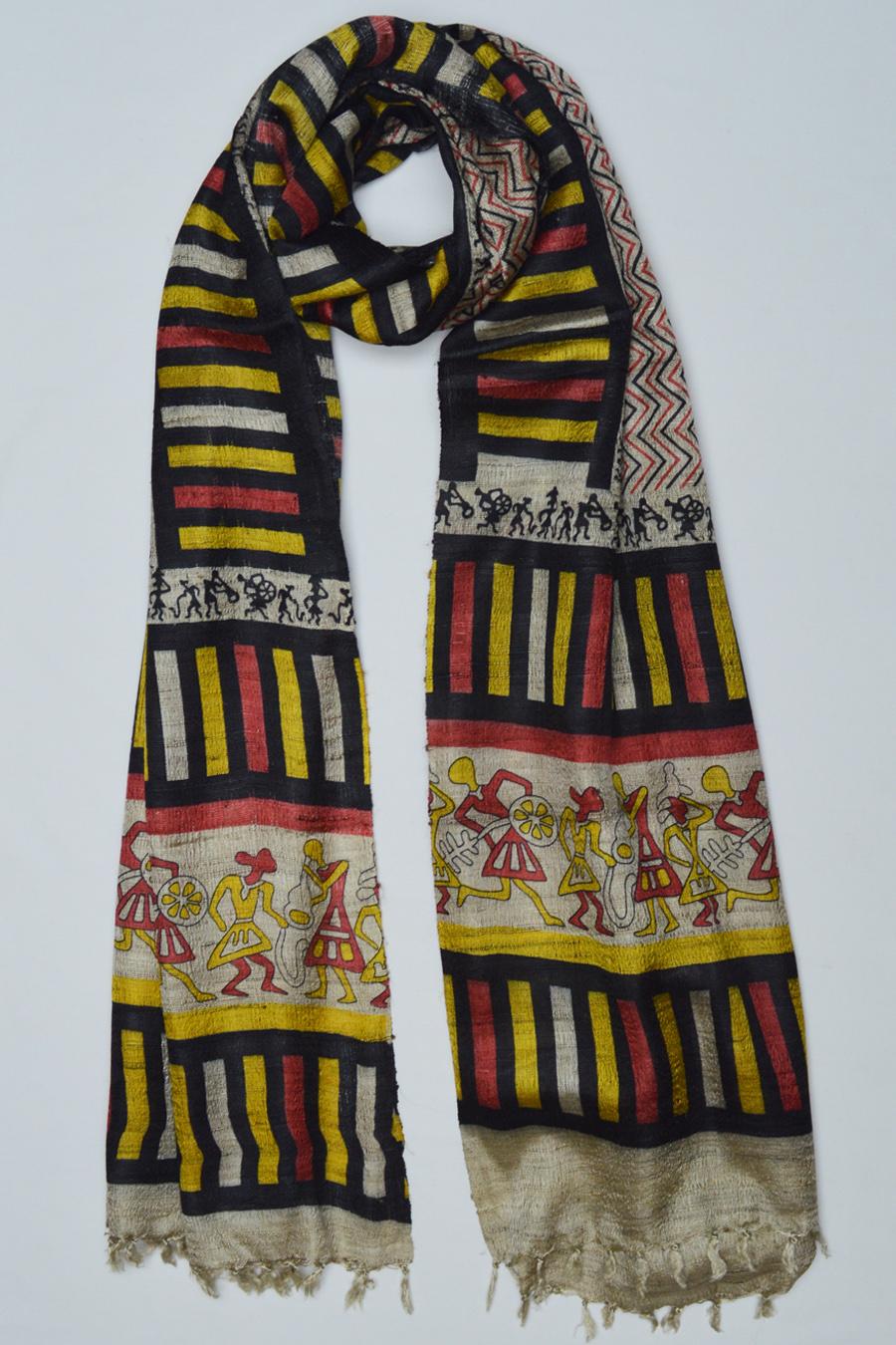 Copy of Tussar Silk  3489