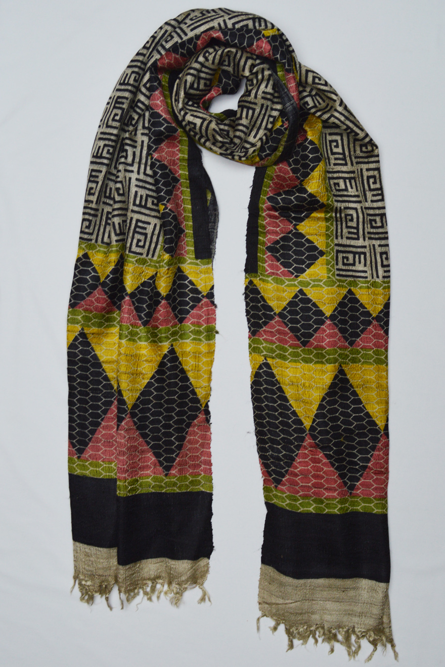 Tussar Silk  3490