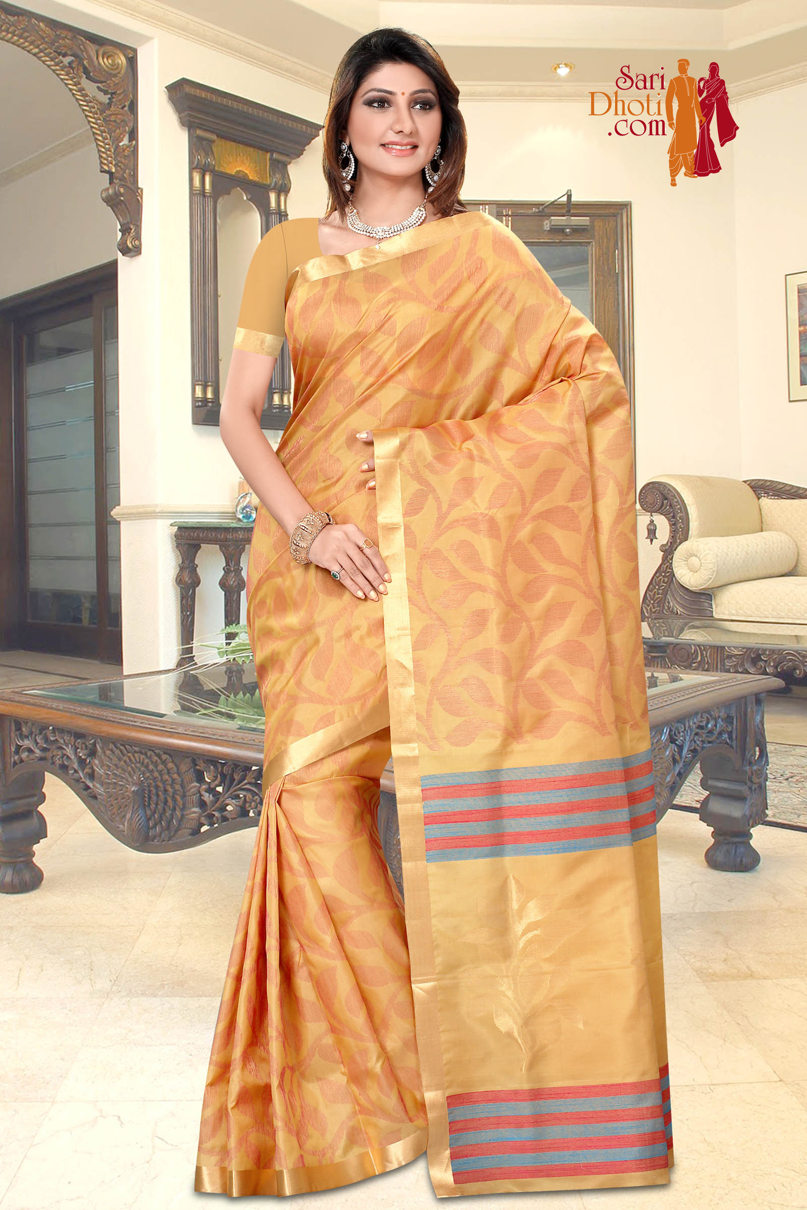 Soft Silk Saree 3639