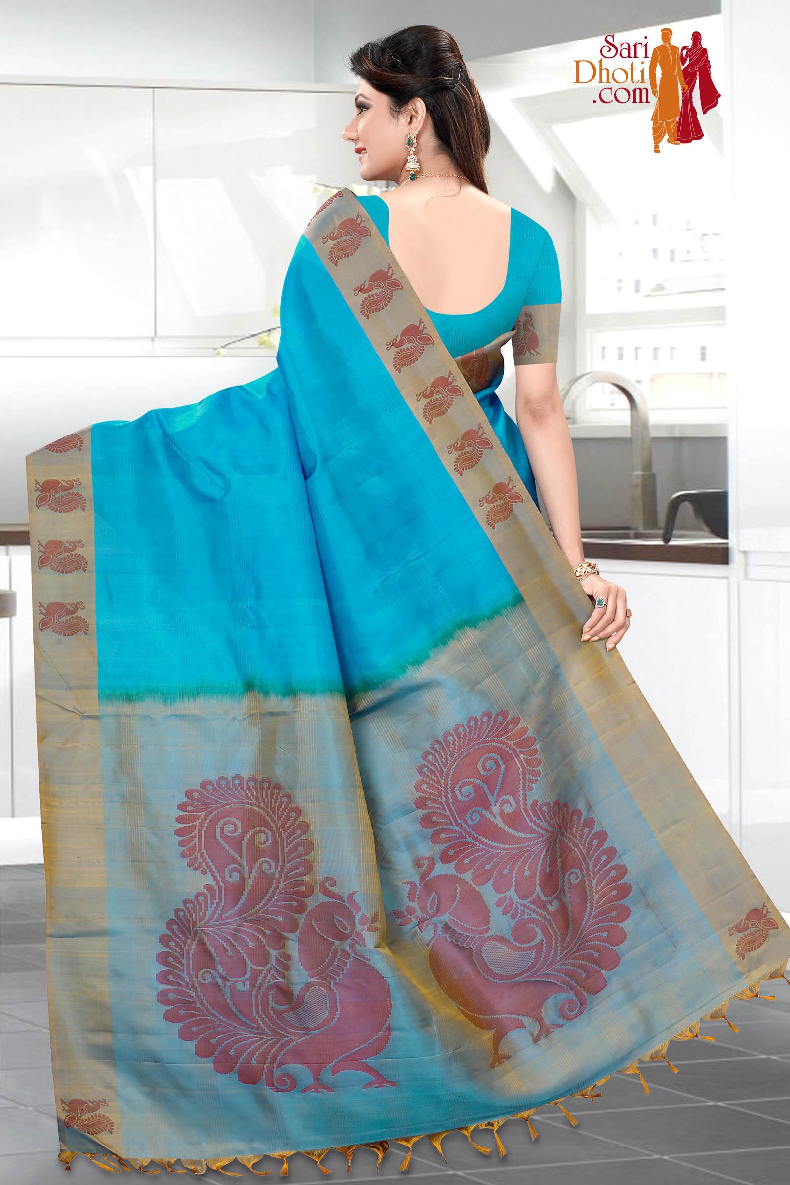 Soft Silk Saree 3654