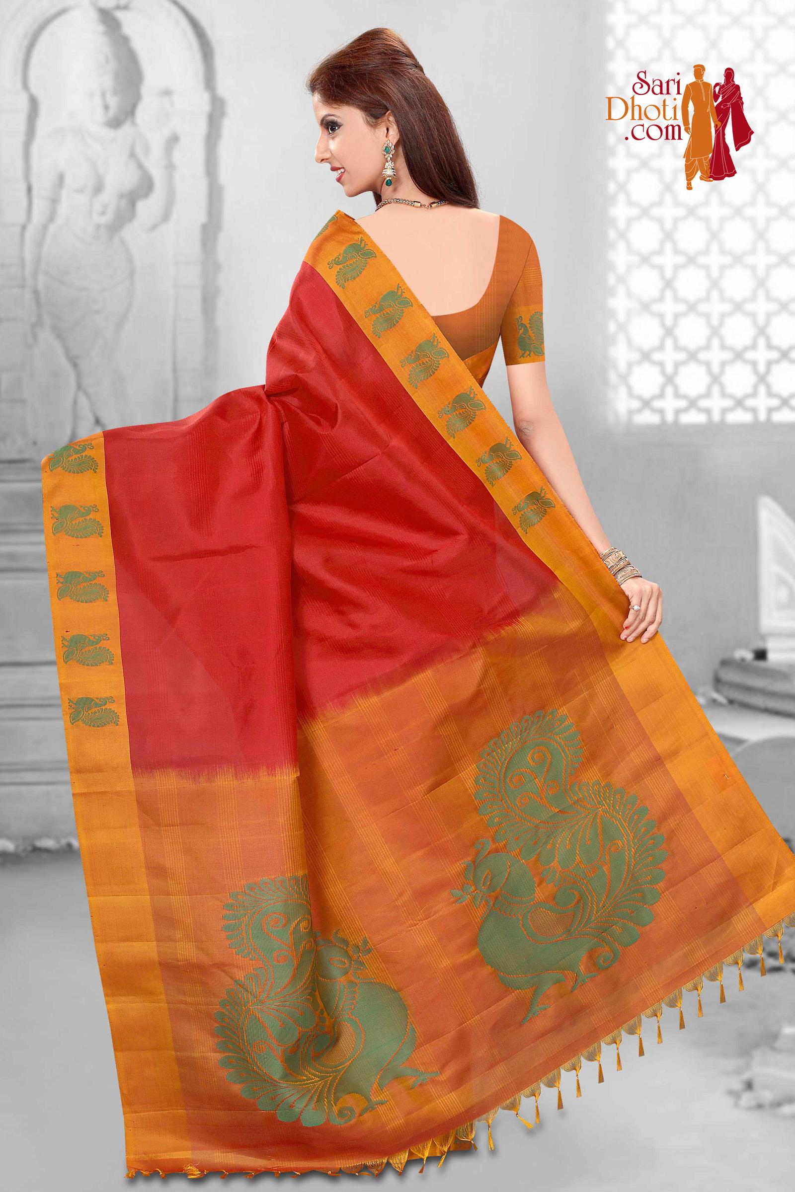Soft Silk Saree 3655