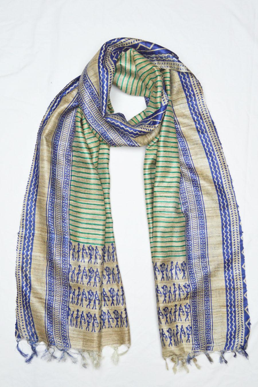 Tussar Silk  3922