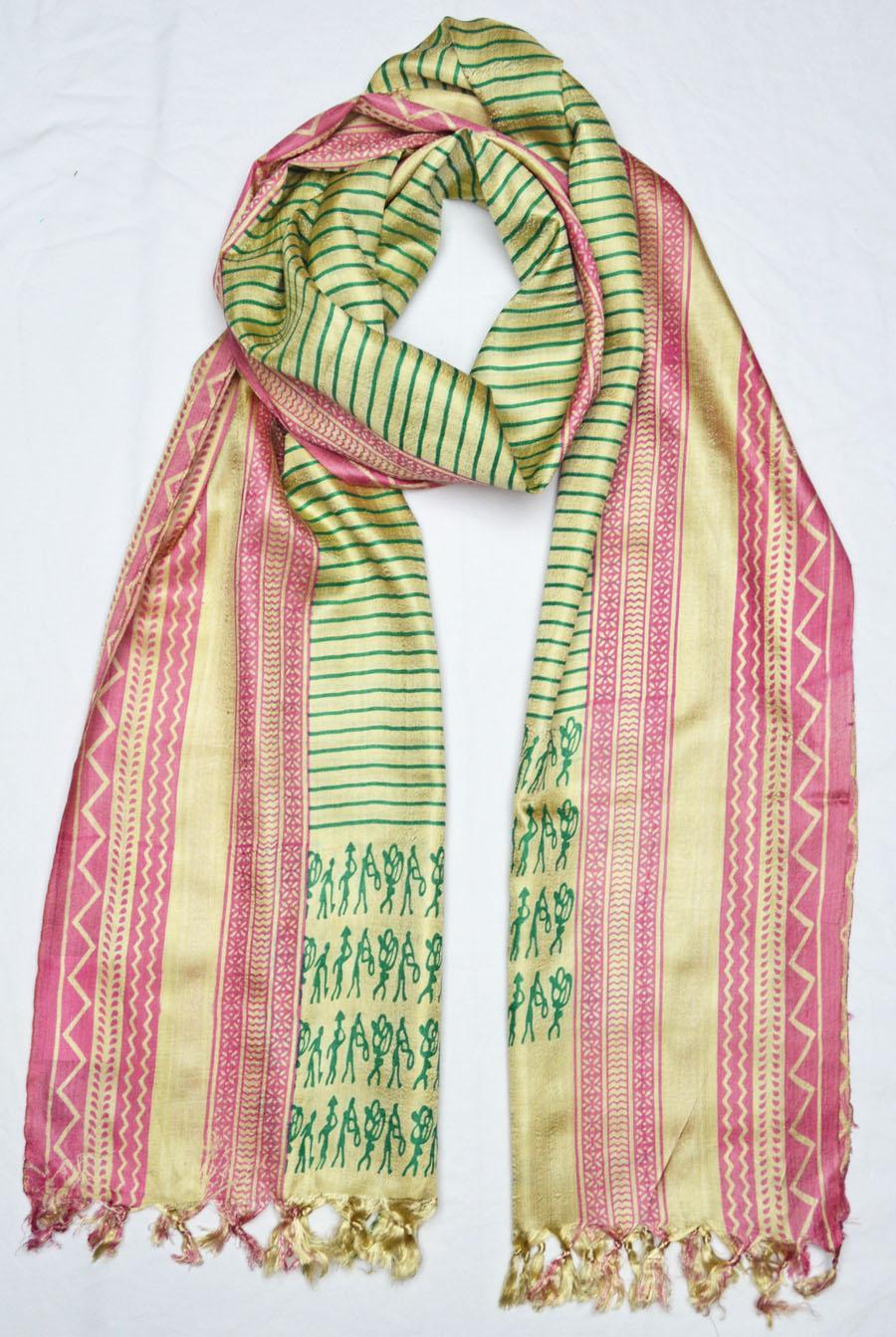 Tussar Silk  3926