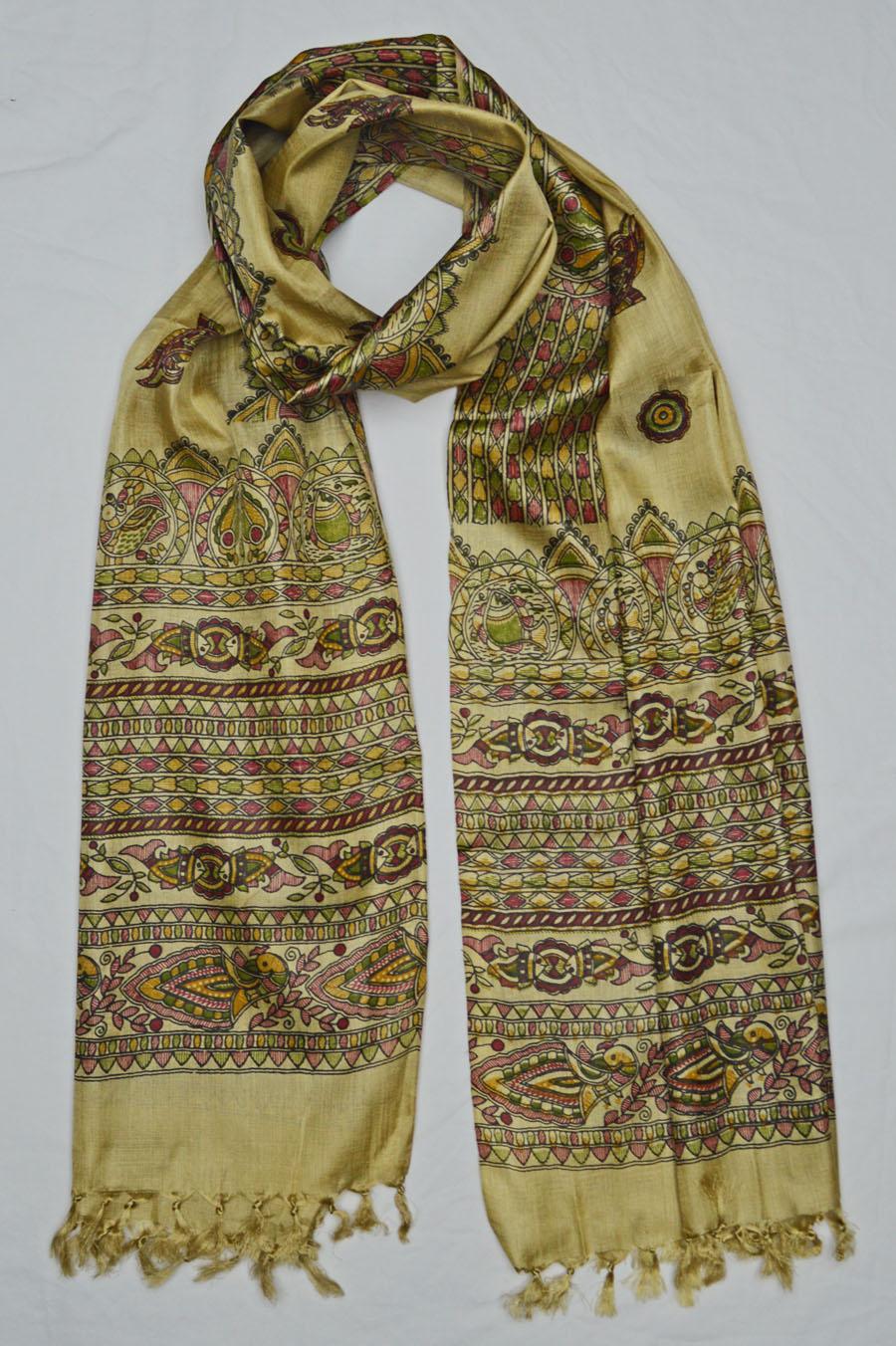 Tussar Silk  3934