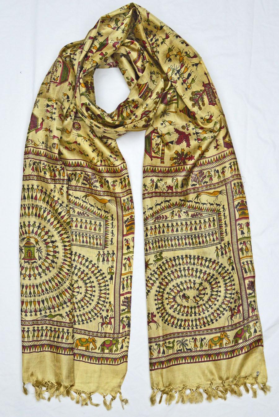 Tussar Silk  3937