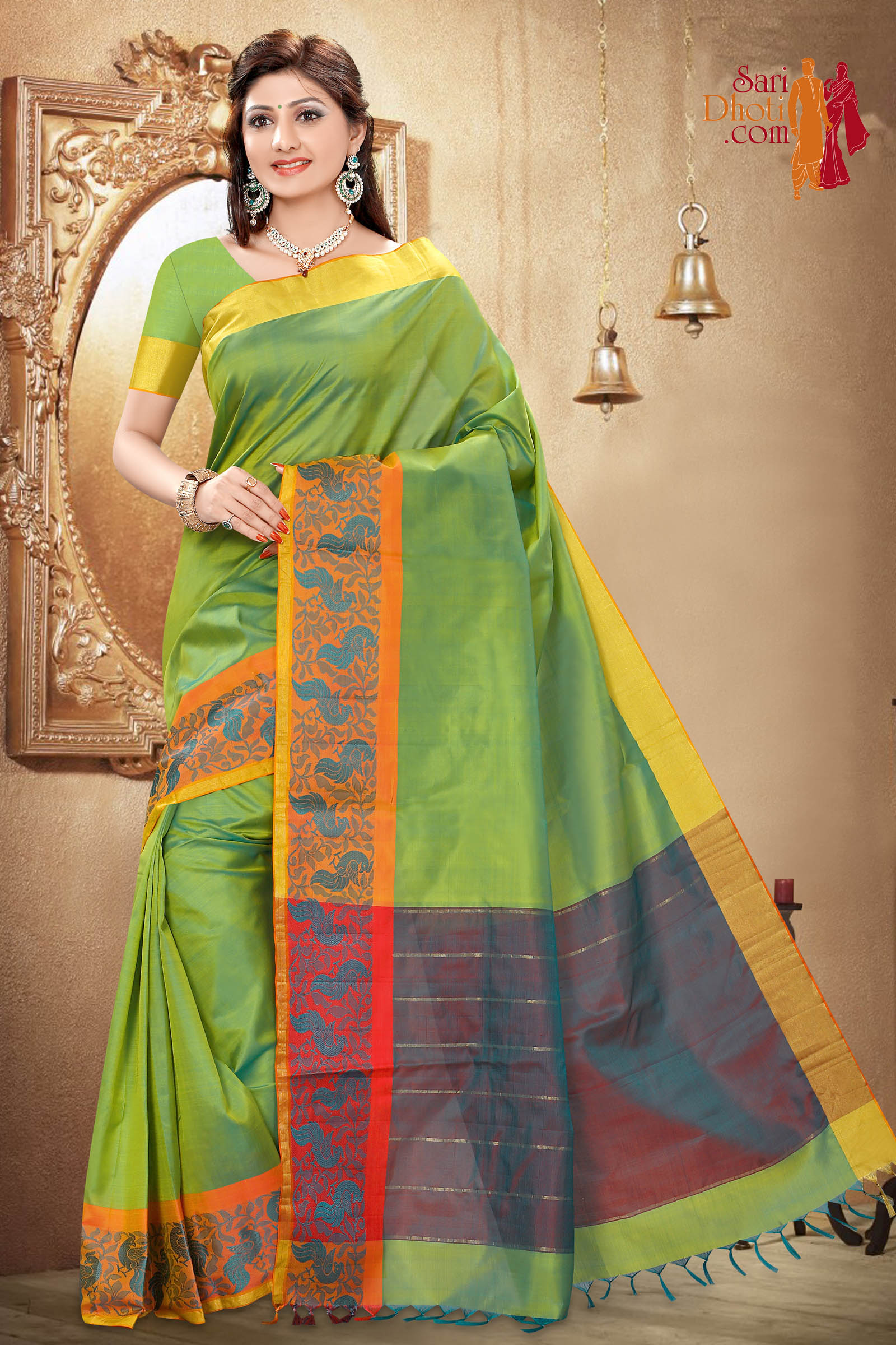 Soft Silk Saree 4161
