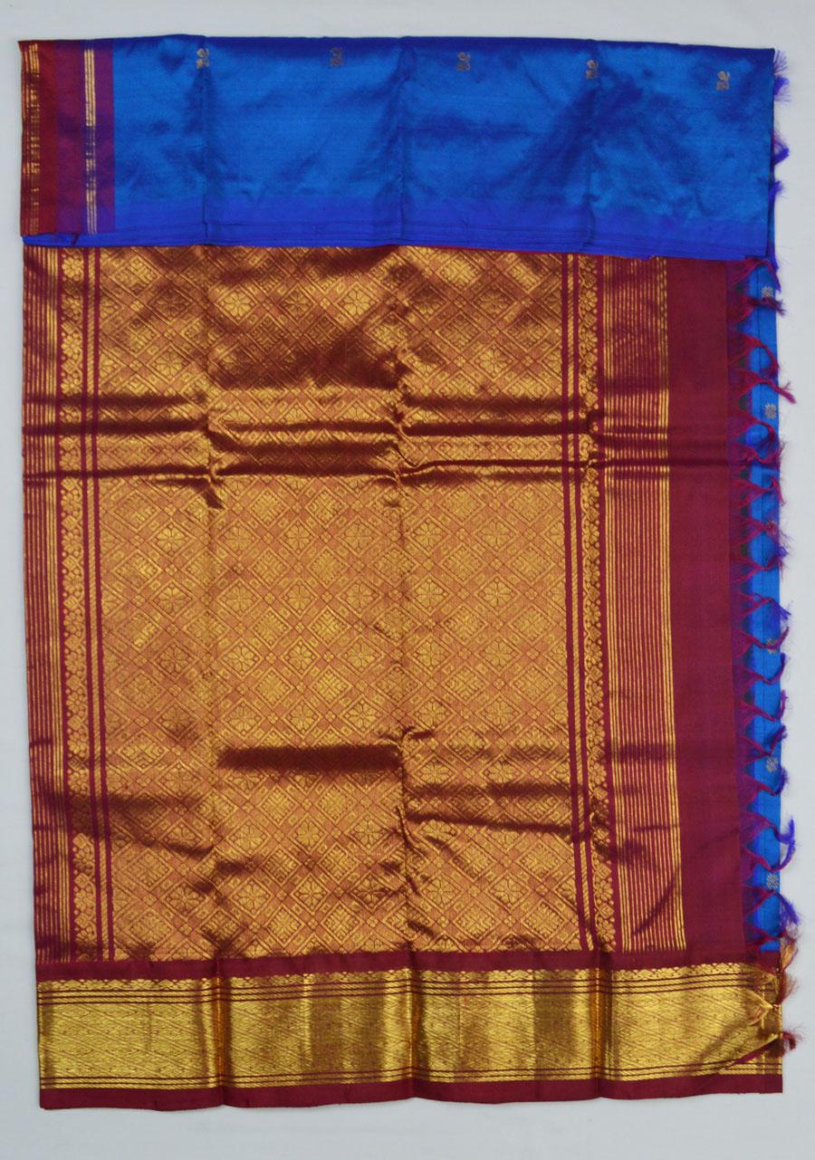 Temple Saree 4173