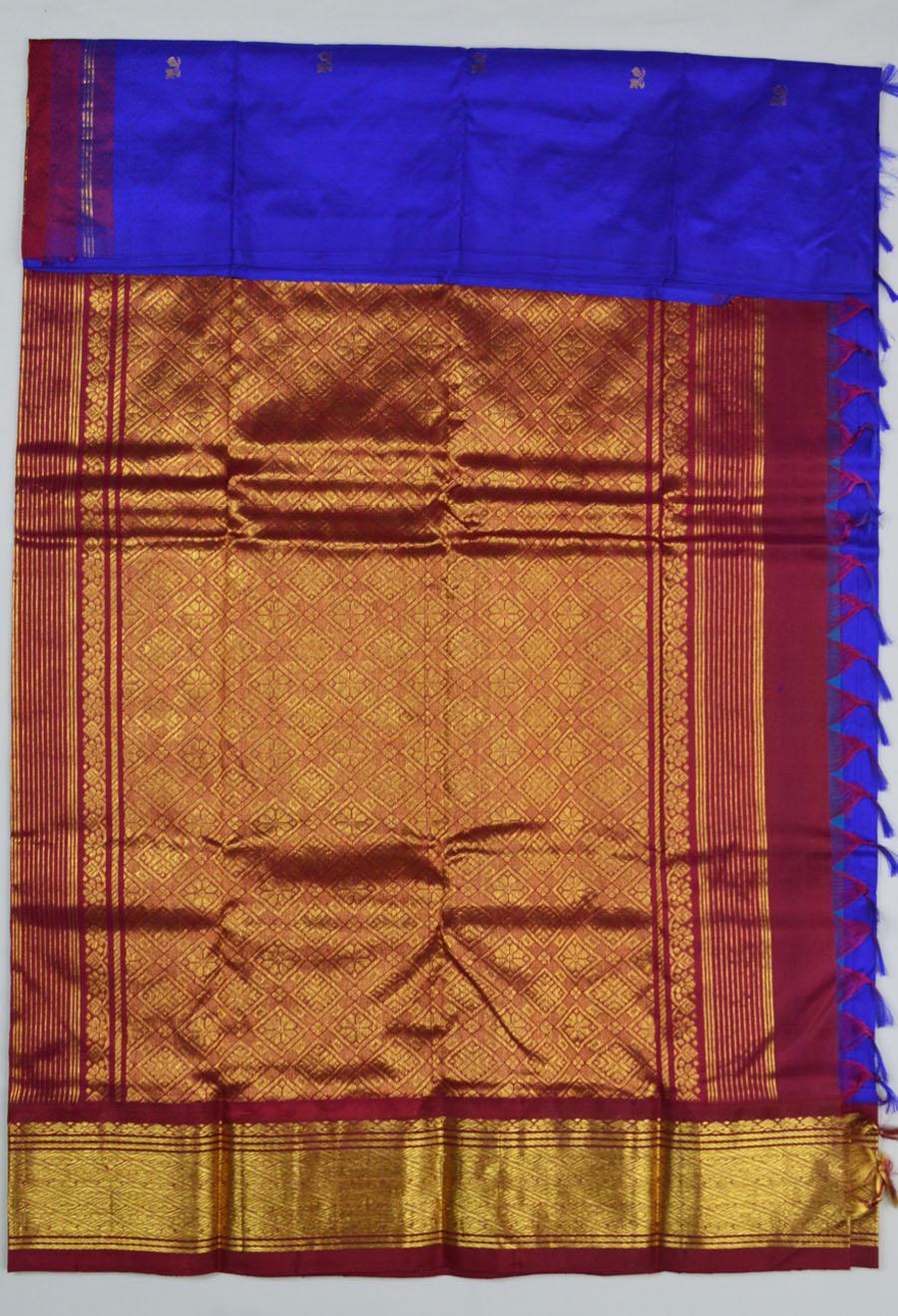 Temple Saree 4183