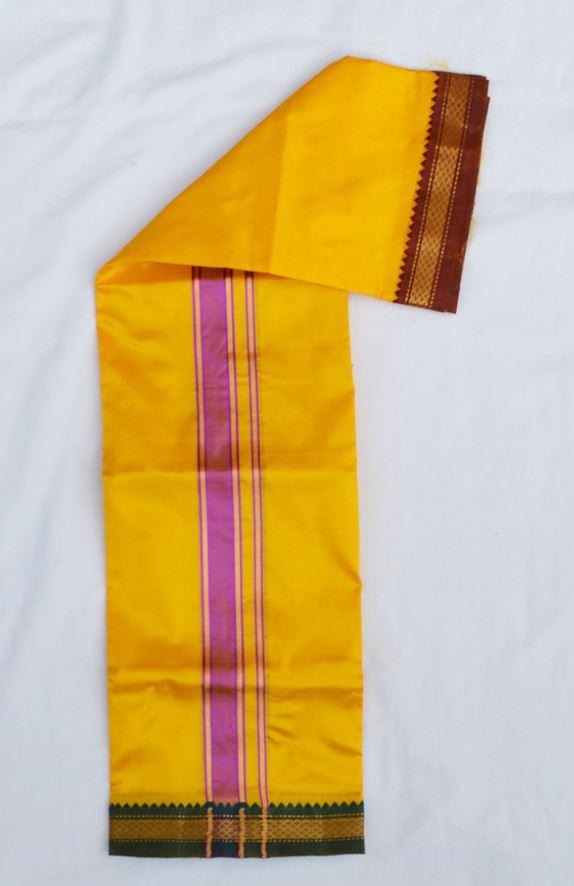 Silk Dhoti 4300