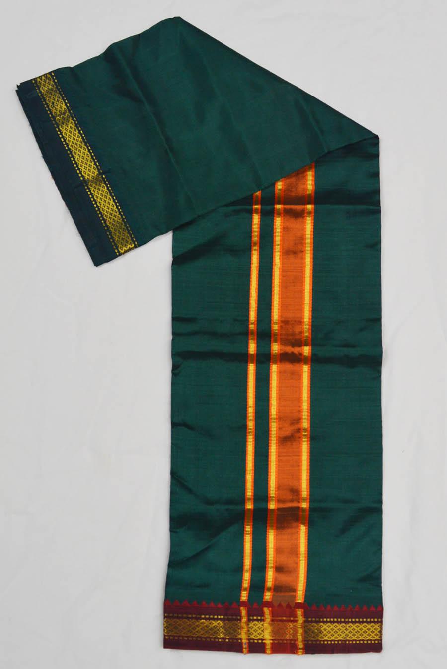 Silk Dhoti 4335