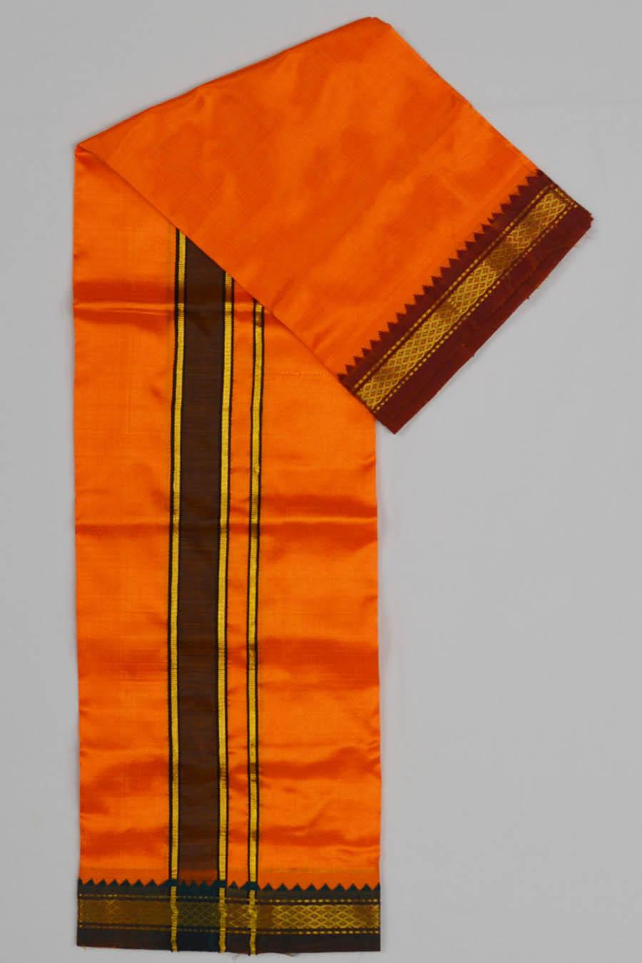 Silk Dhoti 4370