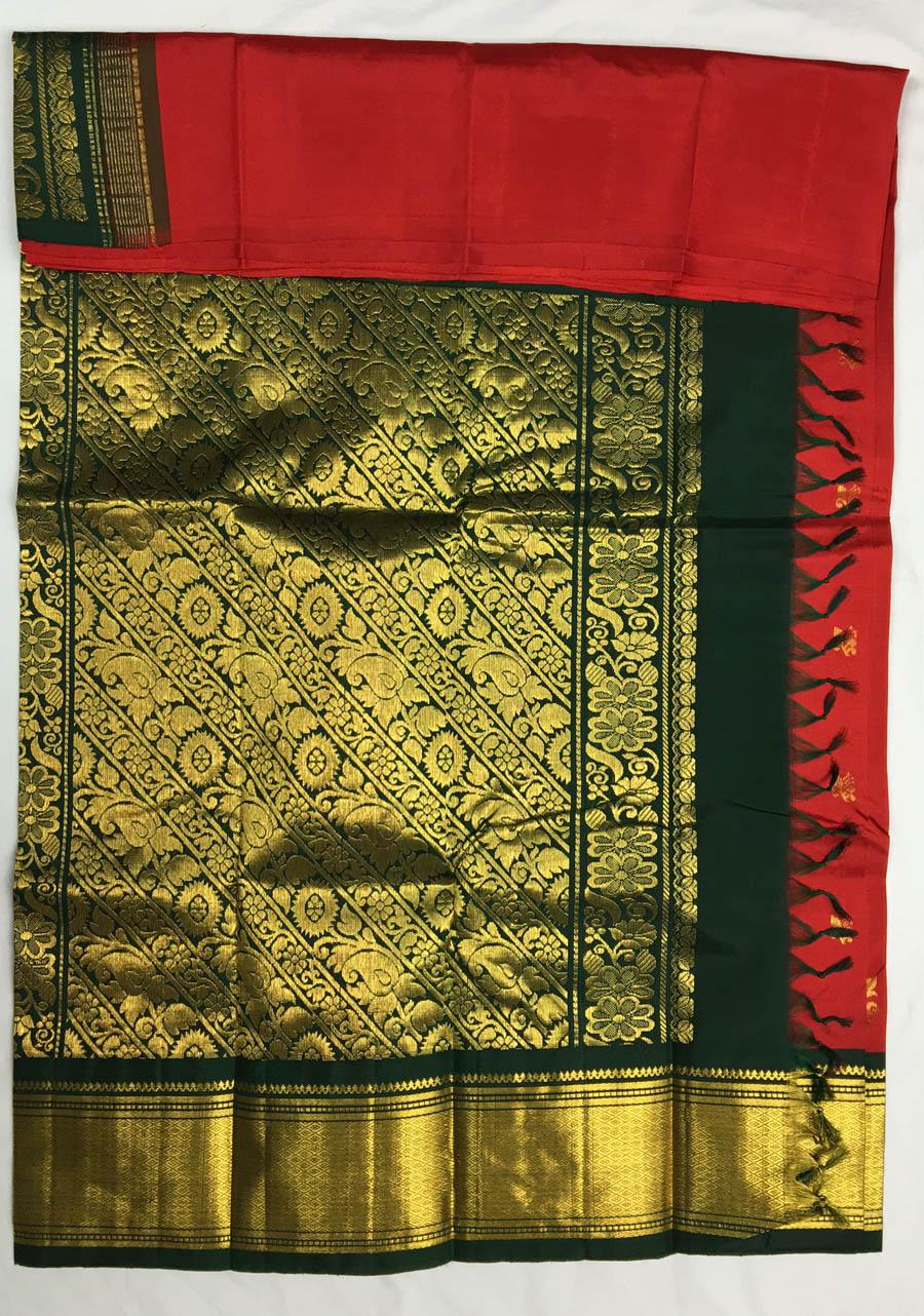 Temple Saree 4415