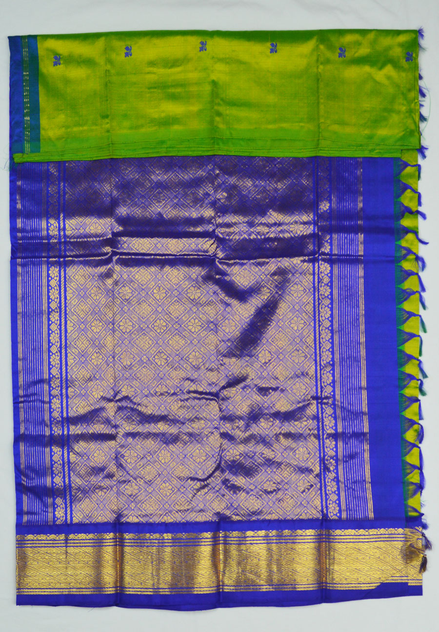Temple Saree 4456