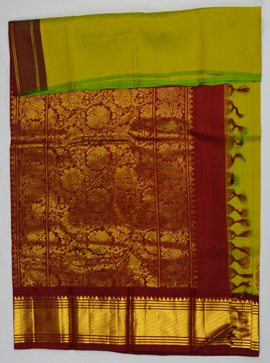 Temple Saree 4567