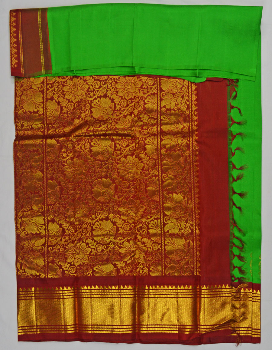 Temple Saree 4570
