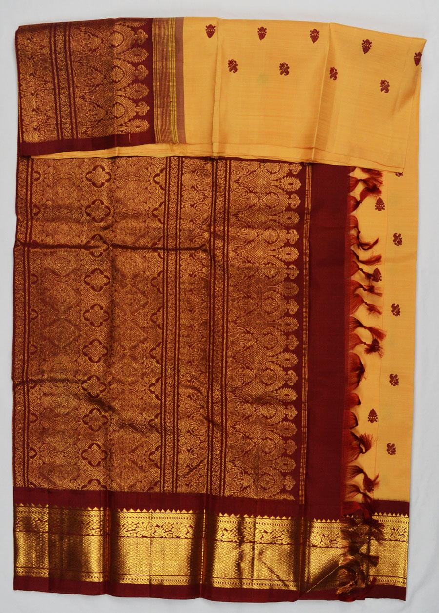 Temple Saree 4594