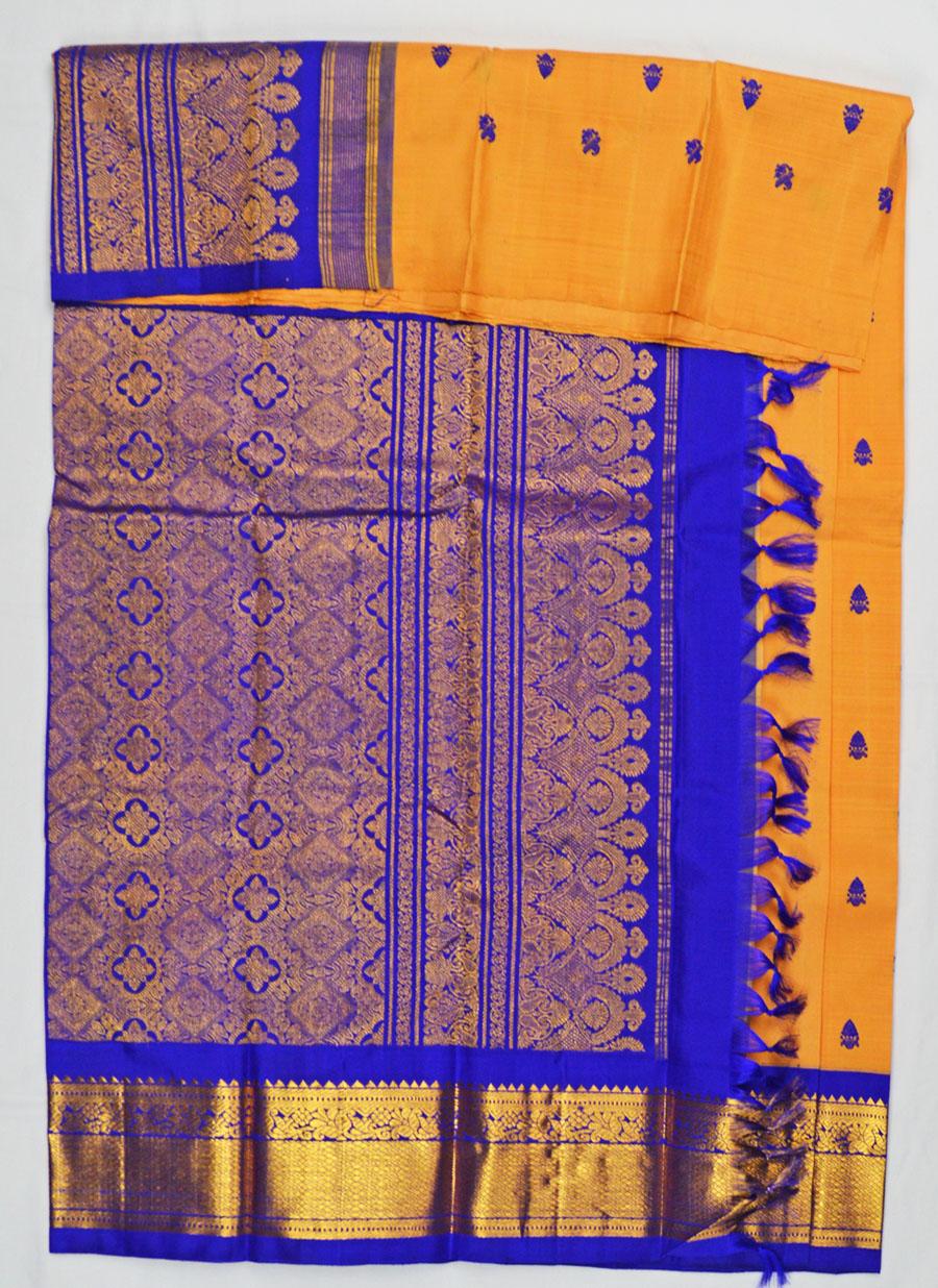 Temple Saree 4596