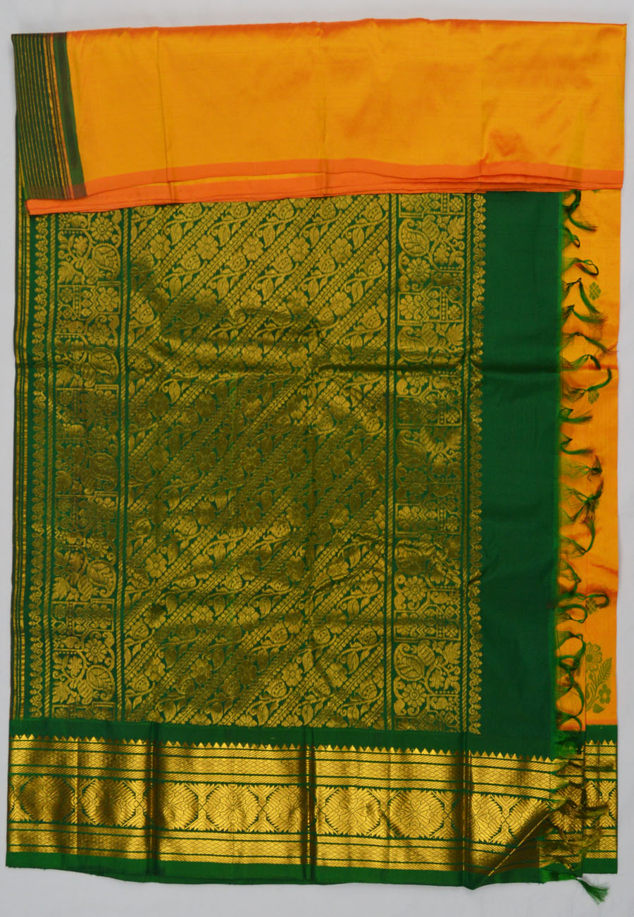 Temple Saree 4662