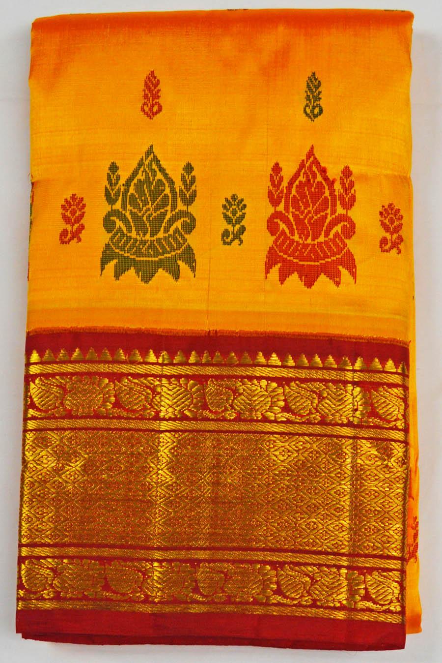 Temple Saree 4708