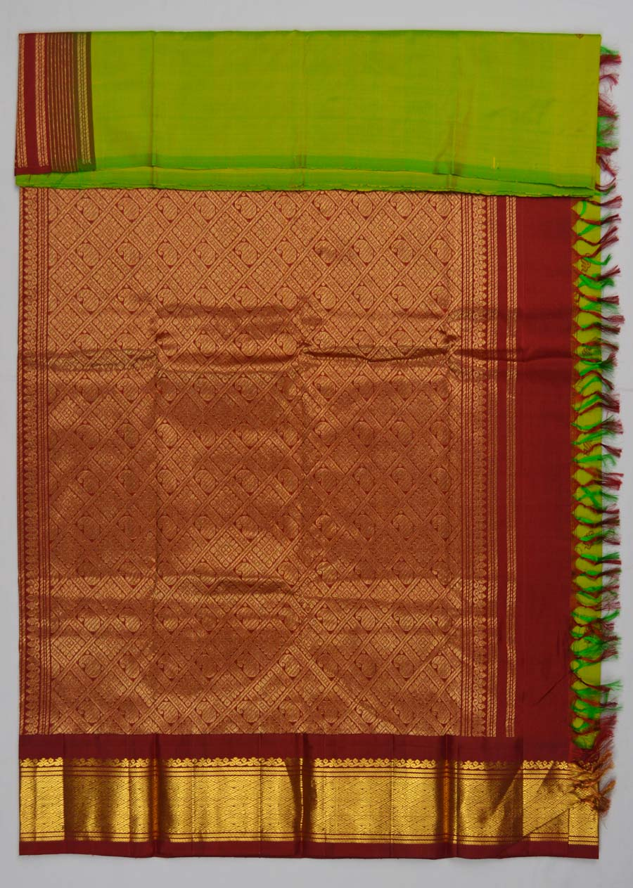 Temple Saree 5046