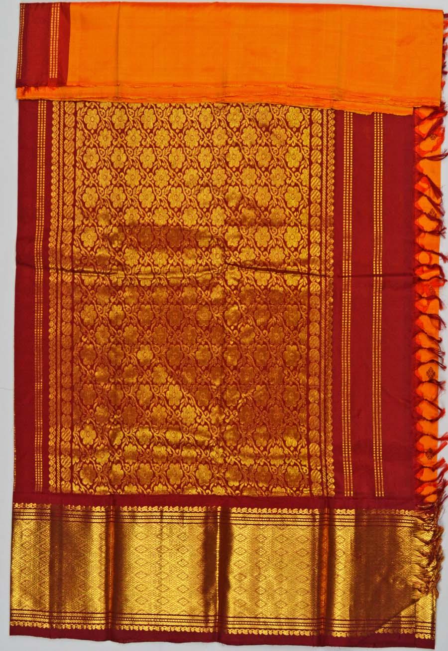 Temple Saree 5227