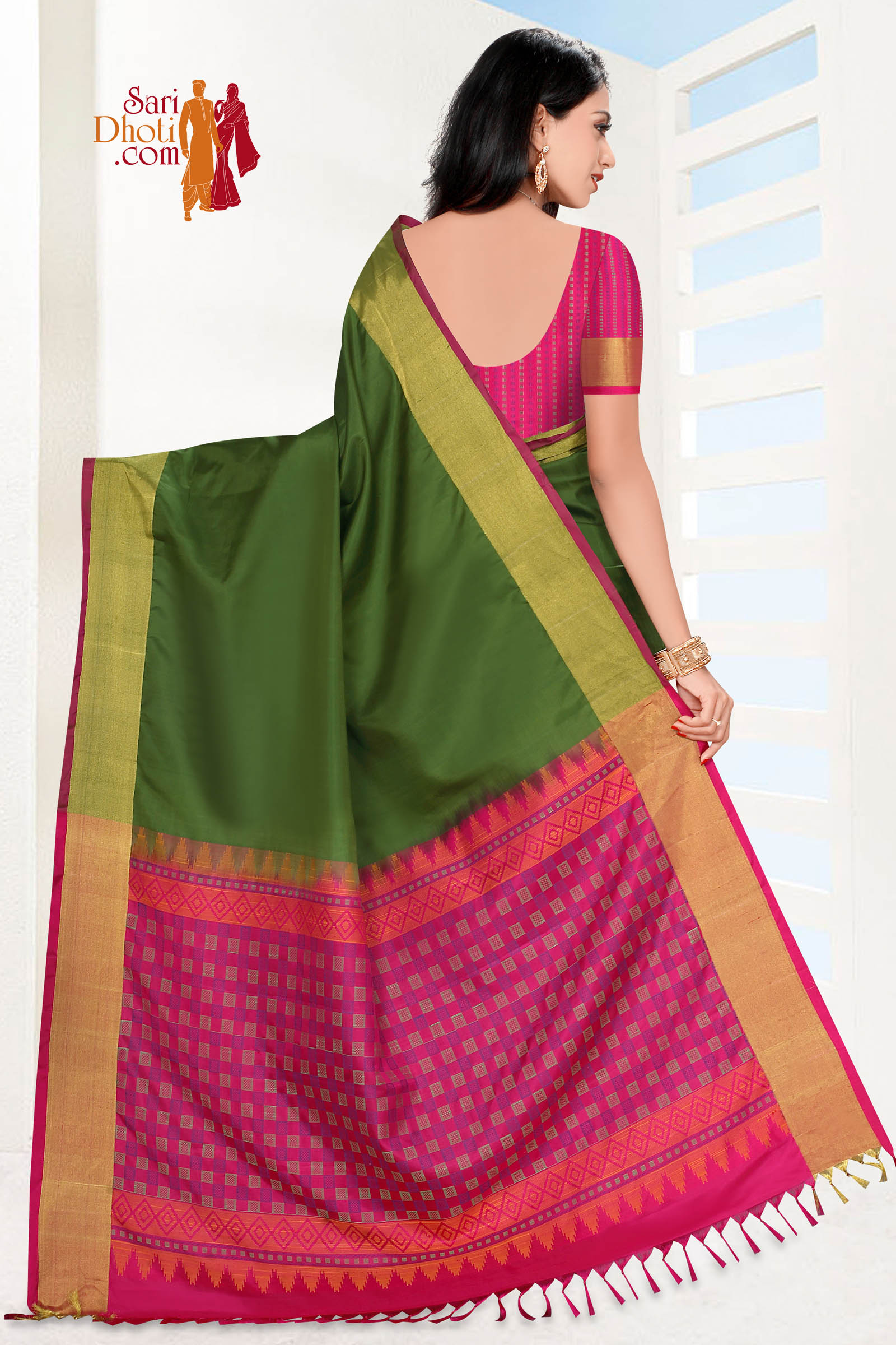 Soft Silk Saree 5825