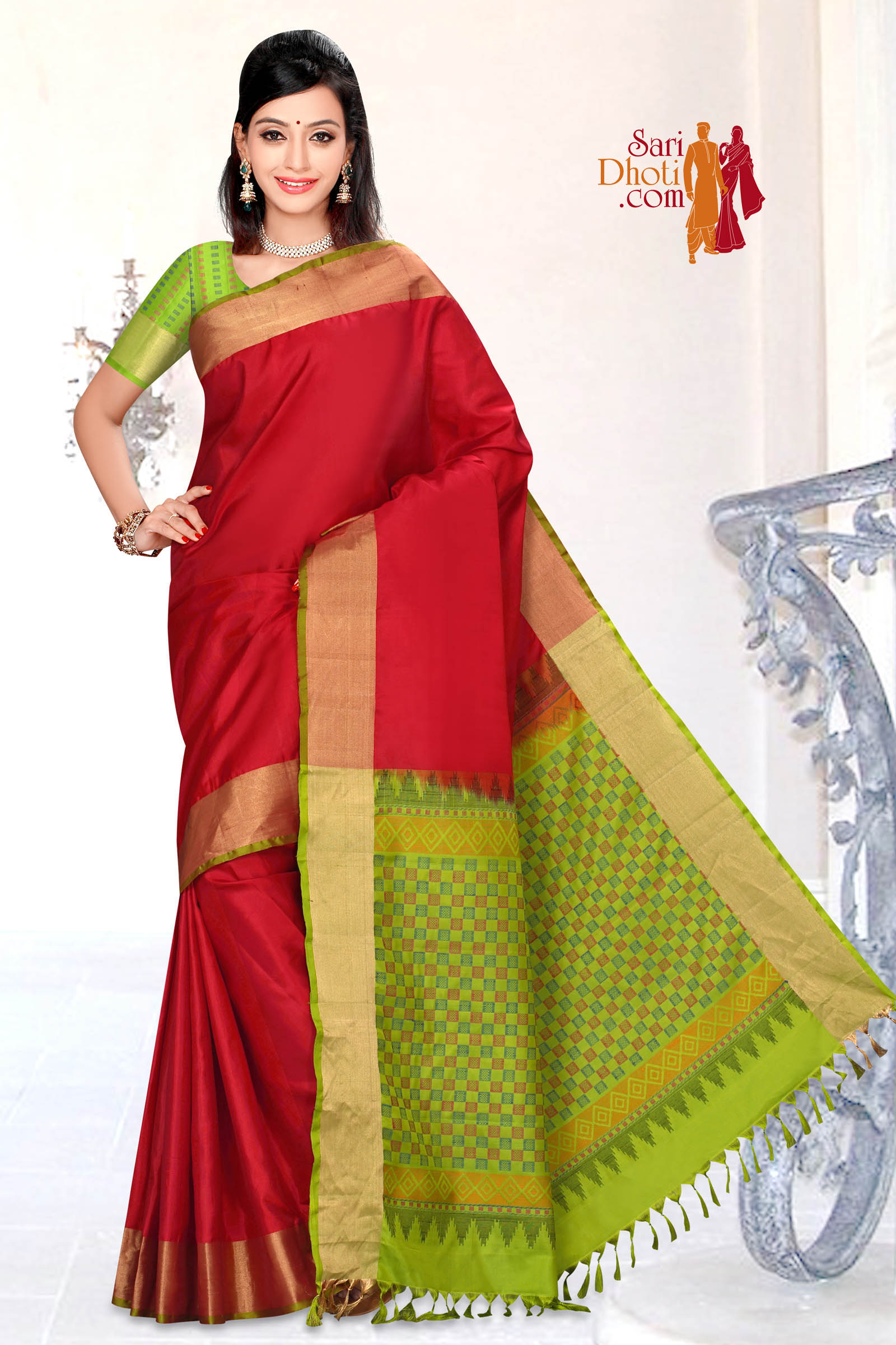 Soft Silk Saree 5827