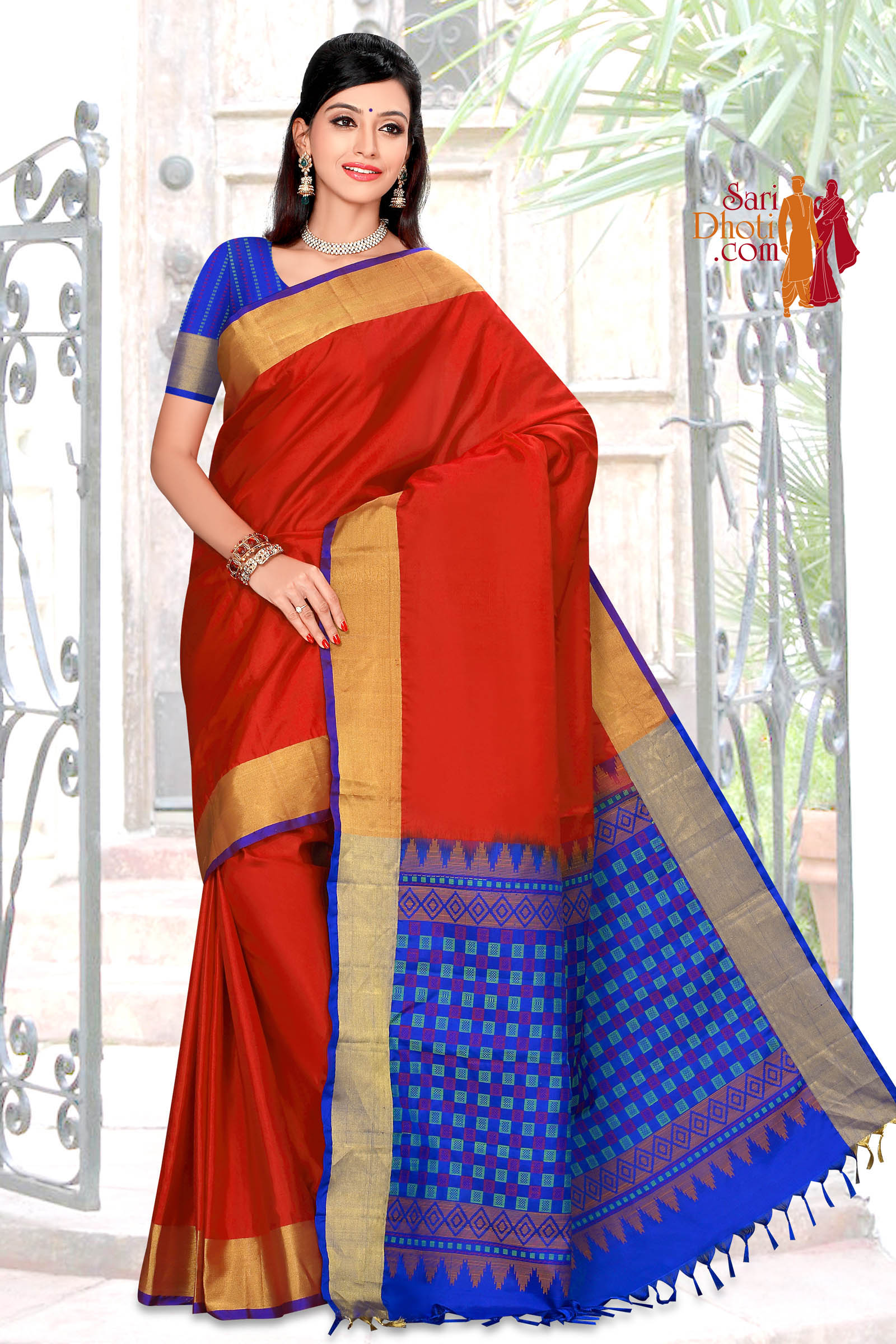 Soft Silk Saree 5828