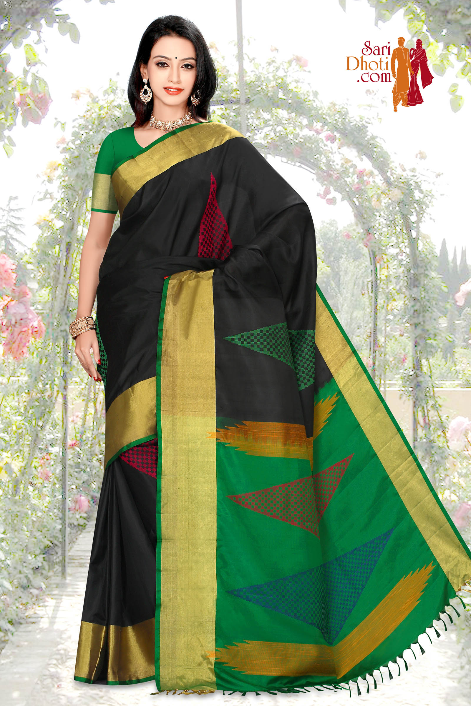 Soft Silk Saree 5834