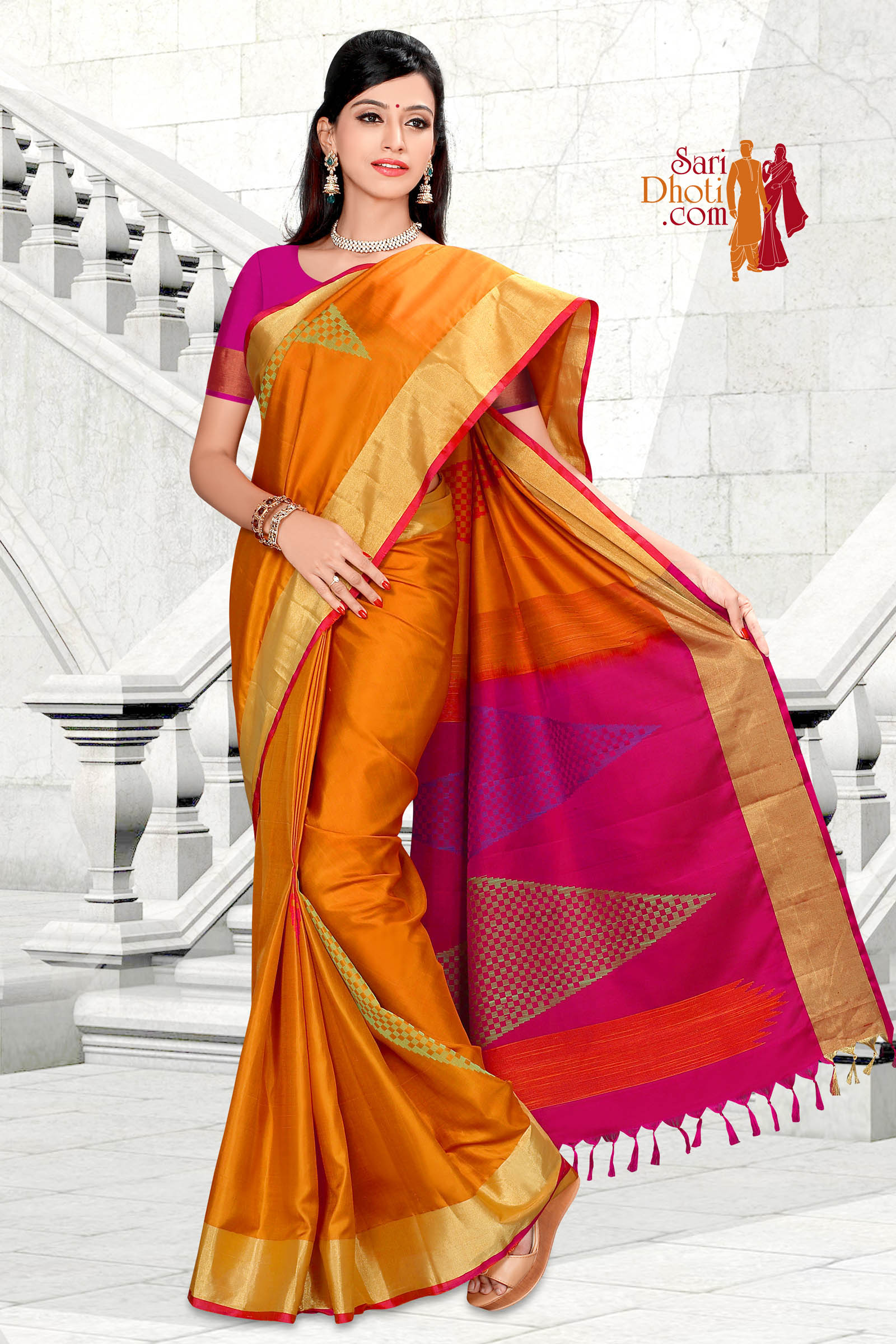 Soft Silk Saree 5835