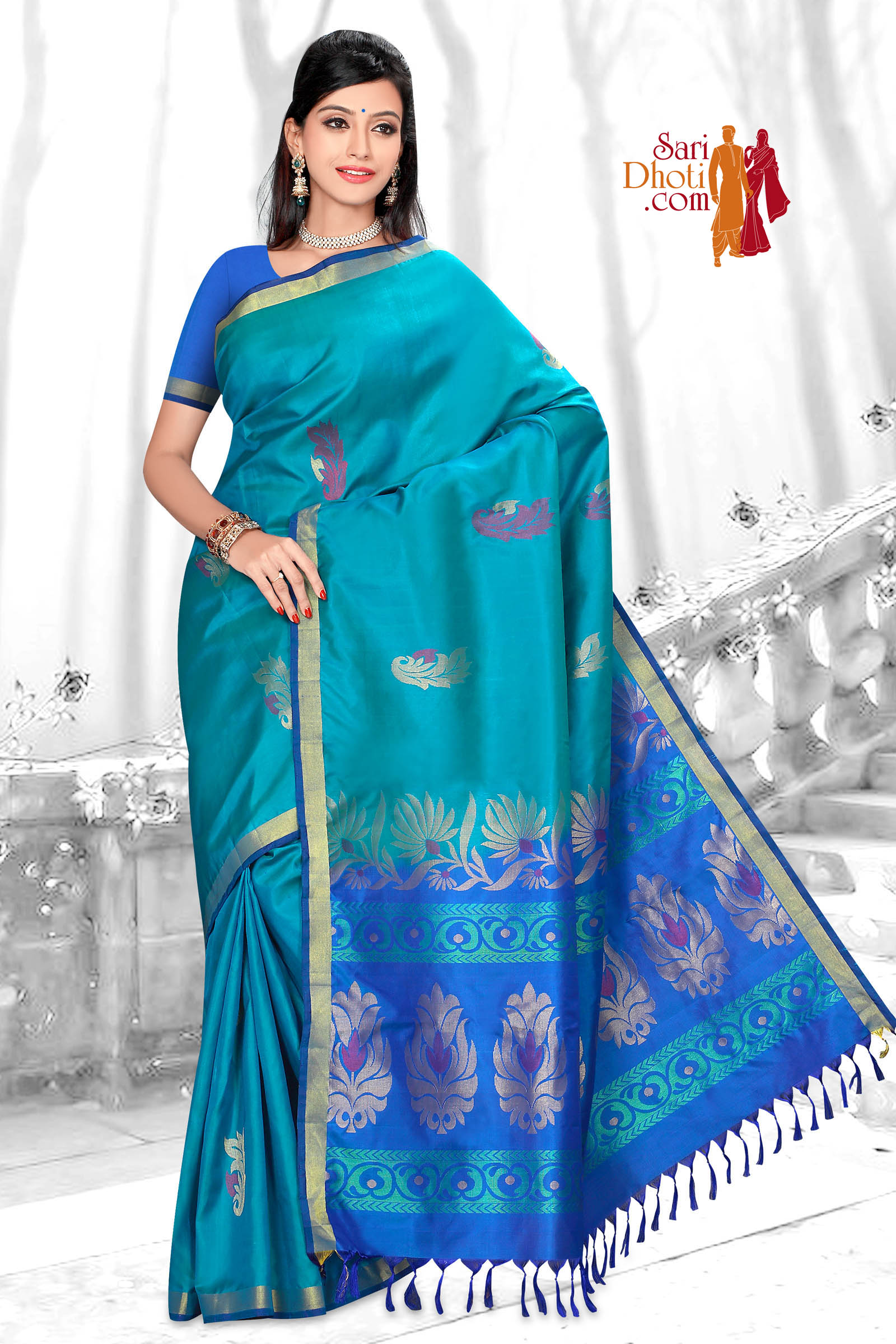 Soft Silk Saree 5839